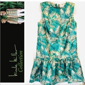 Authentic Nicole Miller Collection Green Dress S